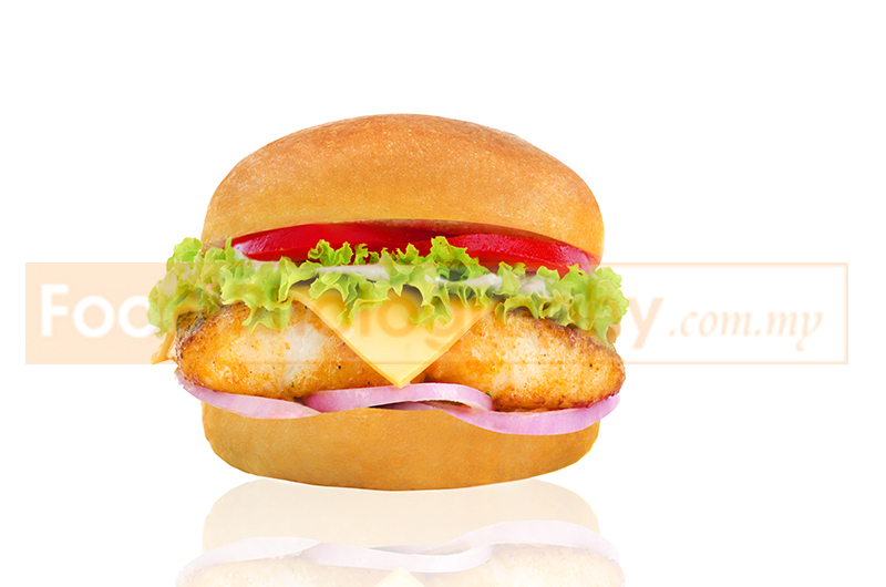 Fish burger malaysia food photography and professional for Fish fast food near me