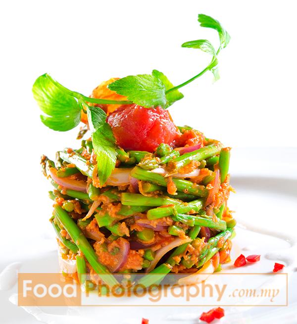 Kerabu Asparagus | Malaysia Food Photography and Professional Product ...
