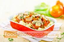 Pasta Airline Food